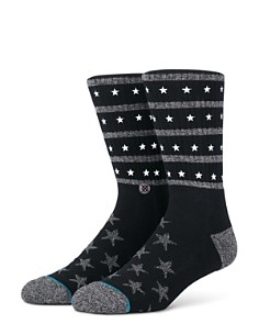 Stance Stacked Star Socks - Bloomingdale's_0