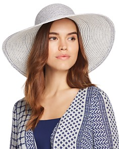 AQUA Two-Tone Packable Floppy Hat - Bloomingdale's_0