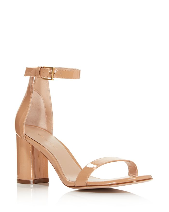 d03988f7d5b Stuart Weitzman - Women s Lessnudist Block Heel Sandals