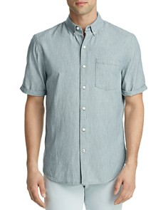 Joe's Jeans John Striped Denim Button-Down Shirt - Bloomingdale's_0