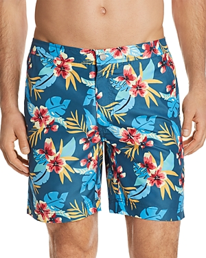 Onia Calder Fiji Floral Swim Trunks - 100% Exclusive