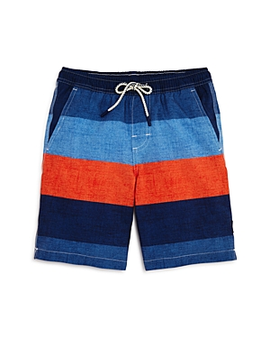 Johnnieo Boys Striped Shore Swim Trunks  Big Kid