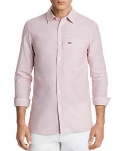 Lacoste Seersucker Button-Down Shirt - Bloomingdale's_0