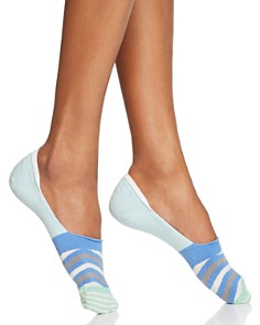 Happy Socks Wavy Stripe Liner Socks - Bloomingdale's_0