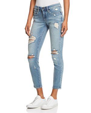 Blanknyc Distressed Cropped Skinny Jeans in Losing It 2948489