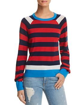 Equipment - Axel Striped Wool & Silk Sweater