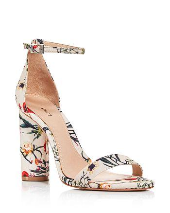 39af8375c3c SCHUTZ - Women s Jeannine Suede Block Heel Sandals