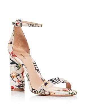 Women'S Jeannine Suede Block Heel Sandals, Multi/Natural
