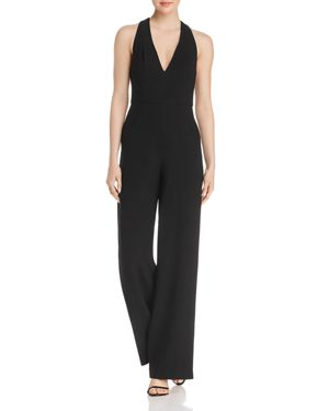 Black Halo Jordan Wide-Leg Jumpsuit