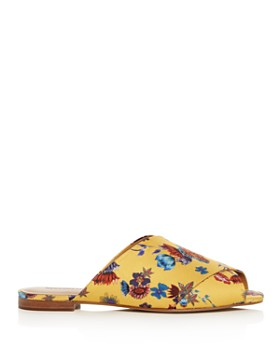 Rebecca Minkoff - Women's Anden Floral Crisscross Slide Sandals