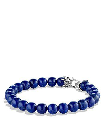 David Yurman - Spiritual Beads Bracelet with Lapis Lazuli, 8mm