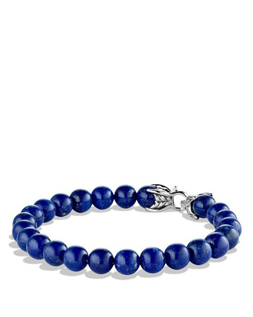 David Yurman Spiritual Beads Bracelet With Lapis Lazuli 8mm