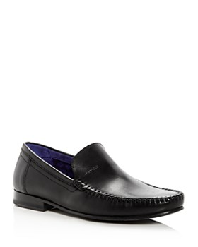 Ted Baker - Men's Simeen Leather Moc Toe Loafers