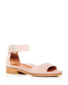 Gentle Souls by Kenneth Cole - Women's Gracey Suede Ankle Strap Sandals