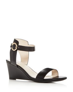 Cole Haan Women's Rosalind Leather Wedge Sandals 2909039