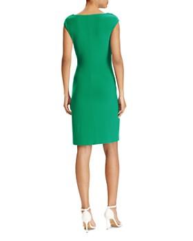 Ralph Lauren - Petites Cowl-Neck Jersey Dress