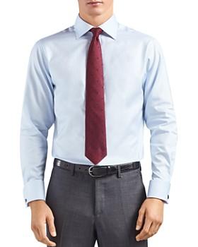 Thomas Pink - Timothy Herringbone Dress Shirt - Bloomingdale's Regular Fit