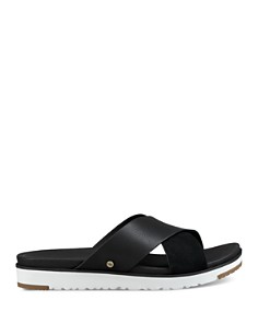 UGG® - Women's Kari Leather Slide Sandals