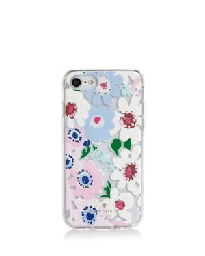 kate spade new york Jeweled Daisy Garden Clear iPhone 7/8 Case 2955773