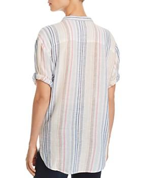 Splendid - Striped Boyfriend Shirt