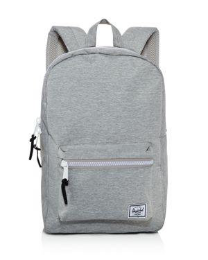 HERSCHEL SUPPLY CO 'Settlement Mid Volume' Backpack - Grey in Light Grey Crosshatch