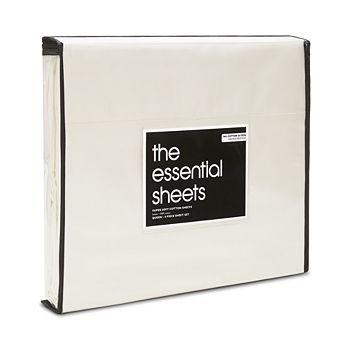 Bloomingdale's Essentials - 400TC Wrinkle Free Sheet Set, King - 100% Exclusive