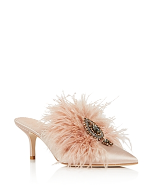 Tory Burch Women's Elodie Embellished Mules
