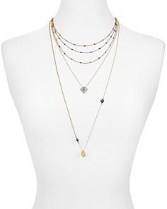 Rebecca Minkoff - Multi Strand Chain Necklace
