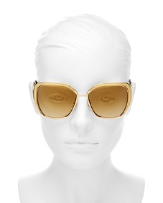 Dolce&Gabbana - Women's Mirrored Square Sunglasses, 56mm