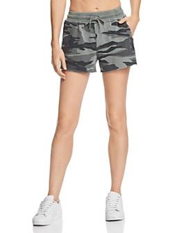 Splendid -  Camo Drawstring Shorts