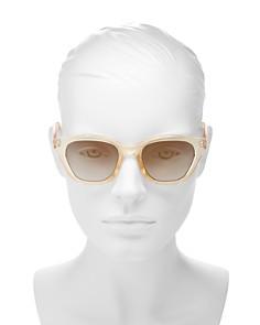 Le Specs - Women's Wannabae Flash Mirrored Cat Eye Sunglasses, 49mm
