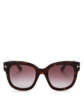 Tom Ford - Women's Beatrix Mirrored Square Sunglasses, 58mm