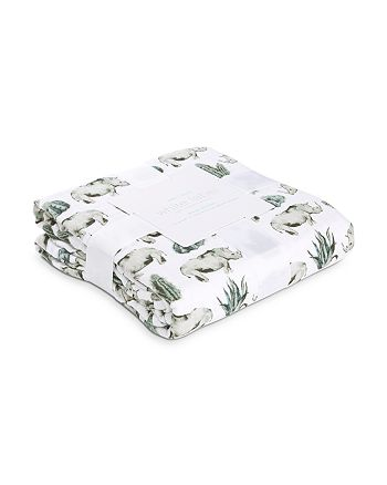 Aden and Anais - Unisex Serengeti Rhino-Print Dream Blanket