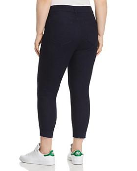 NYDJ Plus - Ami Skinny Released-Hem Crop Jeans in Rinse