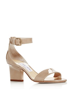 e3c2482afdfa Jimmy Choo - Women s Edina 65 Patent Leather High-Heel Sandals ...