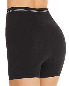 Yummie - Seamless Cotton-Stretch High-Waist Shorts