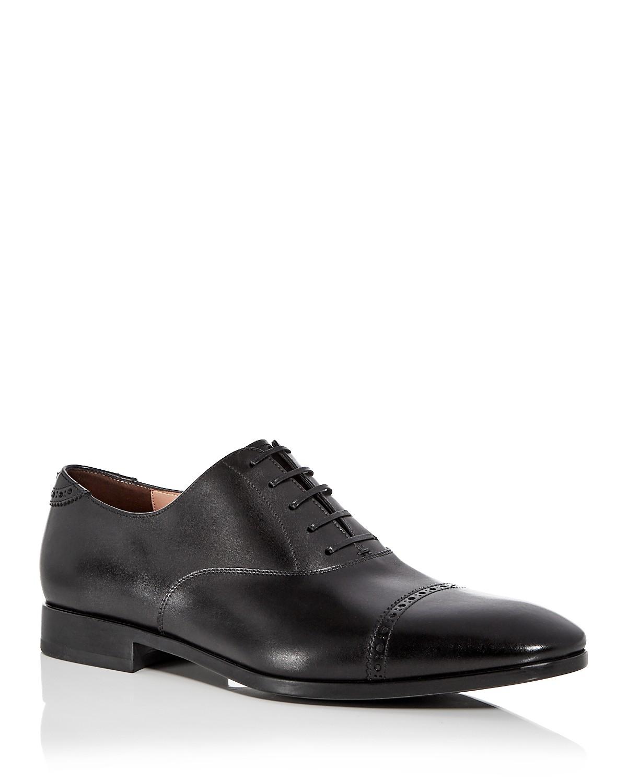 Salvatore FerragamoMen's Boston Leather Brogue Cap Toe Loafers LJQAm875P