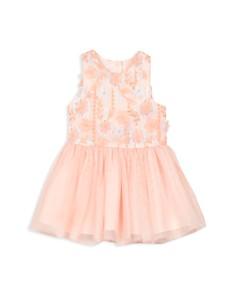 Pippa & Julie - Girls' 3D Flower Dress - Baby