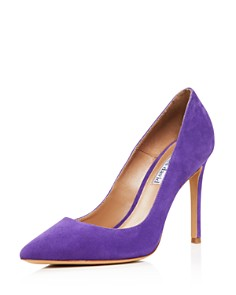 Charles David - Women's Caleesi Suede Pointed Toe High-Heel Pumps