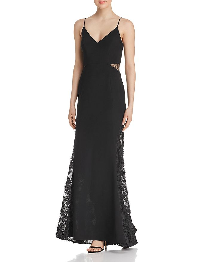 Avery G - Lace-Inset Gown