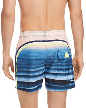 SUNDEK - Striped Swim Trunks