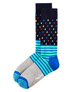 Happy Socks Stripes and Dots Socks - Bloomingdale's_0