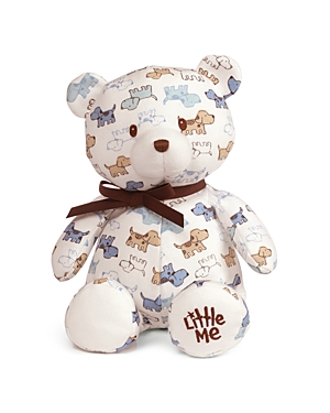 Gund x Little Me PuppyPrint Teddy Bear  Ages 0