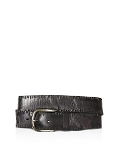 John Varvatos Star USA Side Stitch Leather Belt - Bloomingdale's_0