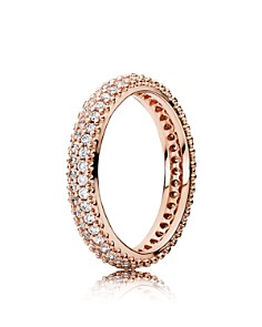 PANDORA Rose-Tone Sterling Silver Inspiration Within Ring - Bloomingdale's_0