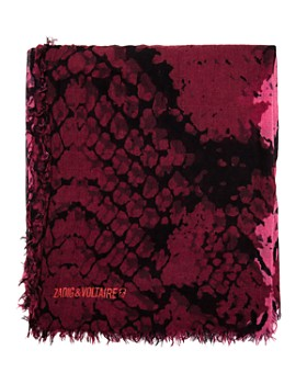 Zadig & Voltaire - Delta Wild Snake Print Scarf