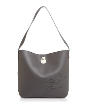 Longchamp - Shop It Medium Leather Hobo