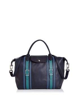 Longchamp - Le Pliage Medium Strap Detail Handbag
