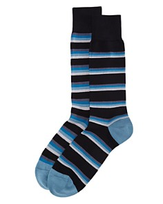 Paul Smith Odd Tie Stripe Socks - Bloomingdale's_0