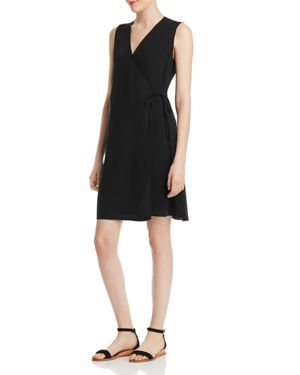 Eileen Fisher Silk Wrap Dress 2966342